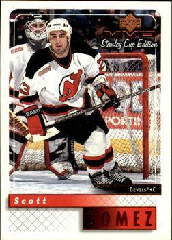 1999-00 Upper Deck MVP Stanley Cup #107 Scott Gomez Front