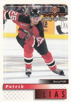 1999-00 Upper Deck MVP Stanley Cup #108 Patrik Elias Front