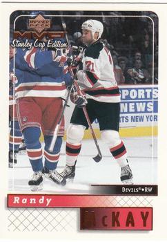 1999-00 Upper Deck MVP Stanley Cup #109 Randy McKay Front