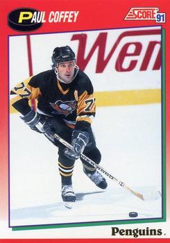 1991-92 Score Canadian English #115 Paul Coffey Front