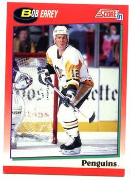 1991-92 Score Canadian English #169 Bob Errey Front