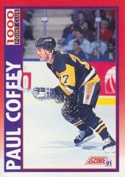 1991-92 Score Canadian English #262 Paul Coffey Front
