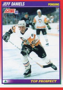 1991-92 Score Canadian English #290 Jeff Daniels Front