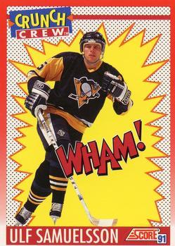 1991-92 Score Canadian English #308 Ulf Samuelsson Front