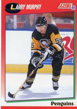 1991-92 Score Canadian English #31 Larry Murphy Front