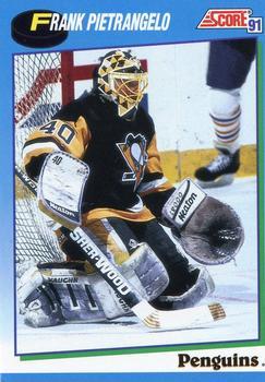 1991-92 Score Canadian English #425 Frank Pietrangelo Front