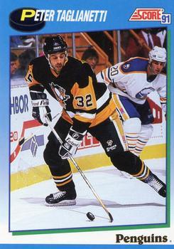 1991-92 Score Canadian English #448 Peter Taglianetti Front