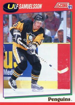 1991-92 Score Canadian English #82 Ulf Samuelsson Front