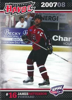 2007-08 Huntsville Havoc SPHL #NNO James Patterson
