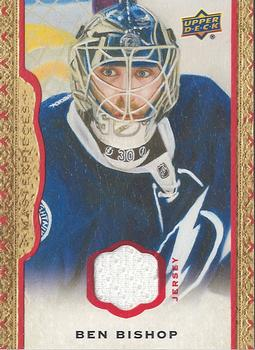 2014-15 Upper Deck Masterpieces - Memorabilia Framed Red  39 Ben Bishop  Front 56a9c9de8