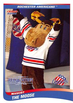 2003-04 Choice Rochester Americans AHL #28 Rochester Americans Mascot Front