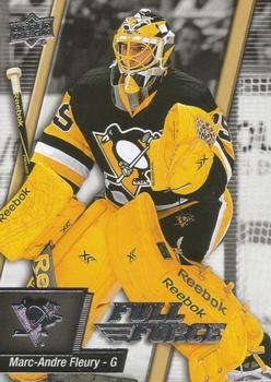 2015-16 Upper Deck Full Force #56 Marc-Andre Fleury Front