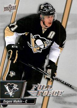 2015-16 Upper Deck Full Force #77 Evgeni Malkin Front