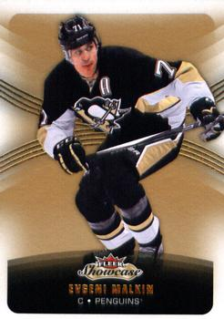 2015-16 Fleer Showcase #12 Evgeni Malkin Front