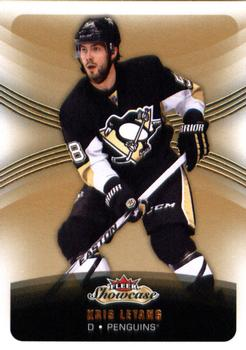 2015-16 Fleer Showcase #28 Kris Letang Front