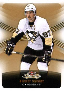 2015-16 Fleer Showcase #50 Sidney Crosby Front