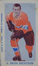 1968-69 Montreal Canadiens IGA Series 1 #NNO Ralph Backstrom Front