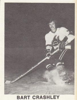 1972-73 Los Angeles Sharks WHA #NNO Bart Crashley Front