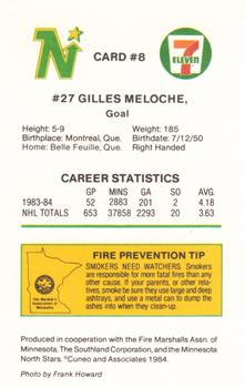 Gilles Meloche Gallery | The Trading Card Database
