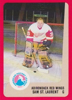 1988-89 ProCards Adirondack Red Wings AHL #NNO Sam St. Laurent Front