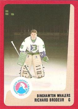 1988-89 ProCards Binghamton Whalers AHL #NNO Richard Brodeur Front