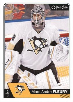 2016-17 O-Pee-Chee #91 Marc-Andre Fleury Front