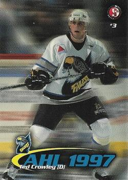 1997-98 SplitSecond Springsfield Falcons AHL #NNO Ted Crowley Front