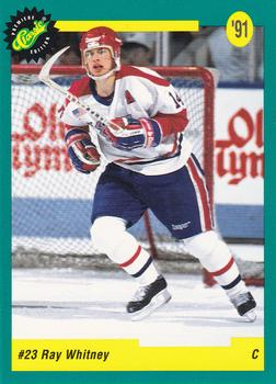 1991 Classic Draft Picks #20 Ray Whitney Front