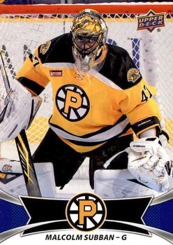Malcolm Subban Gallery The Trading Card Database