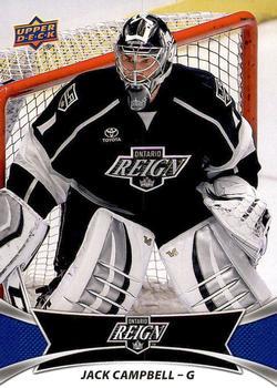 2016-17 Upper Deck AHL #77 Jack Campbell Front
