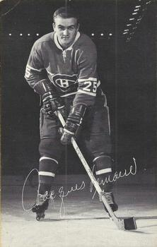 1968-69 Montreal Canadiens Postcards #NNO Jacques Lemaire Front