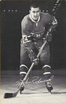 1968-69 Montreal Canadiens Postcards #NNO Mickey Redmond Front