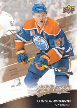 2017-18 Upper Deck MVP #201 Connor McDavid Front