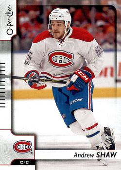 2017-18 O-Pee-Chee #230 Andrew Shaw Front