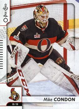 2017-18 O-Pee-Chee #282 Mike Condon Front