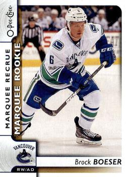 2017-18 O-Pee-Chee #504 Brock Boeser Front