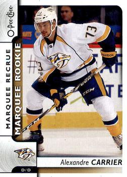 2017-18 O-Pee-Chee #514 Alexandre Carrier Front