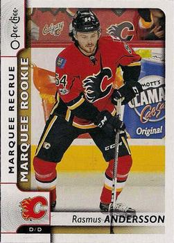 2017-18 O-Pee-Chee #529 Rasmus Andersson Front