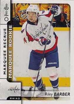 2017-18 O-Pee-Chee #545 Riley Barber Front