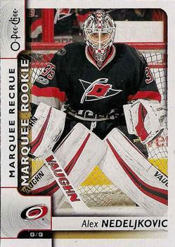 2017-18 O-Pee-Chee #548 Alex Nedeljkovic Front
