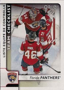 2017-18 O-Pee-Chee #573 Florida Panthers Front