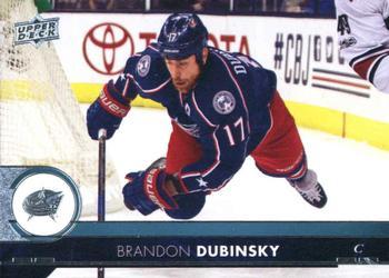 2017-18 Upper Deck #51 Brandon Dubinsky Front