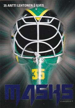 2017-18 Cardset Finland - Masks Special Edition Blue #2 Antti Lehtonen Front