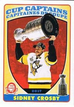 2017-18 O-Pee-Chee - Cup Captains #CC-SC Sidney Crosby Front
