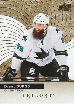 2017-18 Upper Deck Trilogy #8 Brent Burns Front