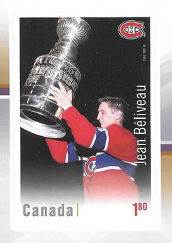 2017 Canada Post Canadian Hockey Legends #NNO Jean Beliveau Front