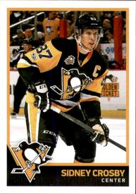 2017-18 Panini Stickers #187 Sidney Crosby Front