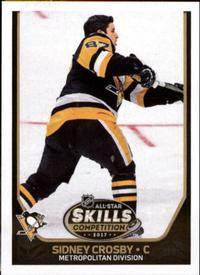 2017-18 Panini Stickers #456 Sidney Crosby Front