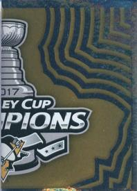 2017-18 Panini Stickers #503 Stanley Cup Champions Front