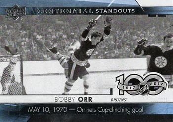 Upper Deck Centennial Standout Card 48 Bobby Orr